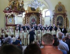 Koncert vmístním kostele